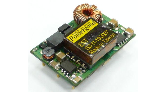 Convertitori dc/dc Powergood da eMergy Tech
