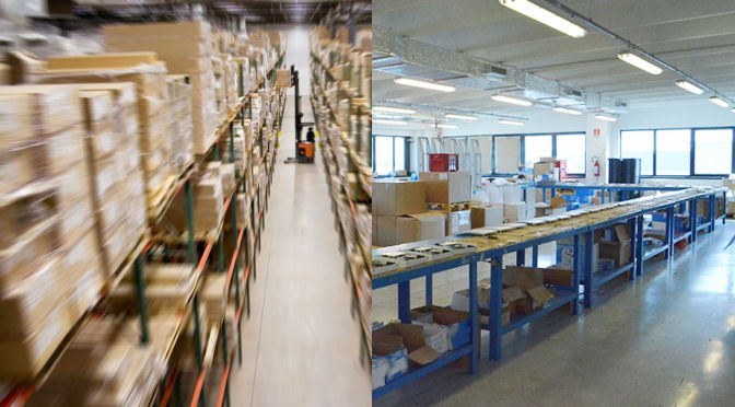 Logistica e stoccaggio | 2L Elettronica