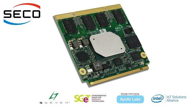 Modulo Qseven® Rel. 2.1 con Apollo Lake | SECO